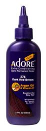 Adore Plus Extra Conditioning Semi Permanent Color Dark Red Brown 100ml