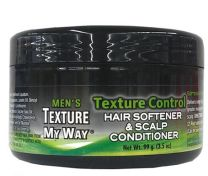 Men's Texture My Way Texture Control Hair Softener and Scalp Conditioner 3.5oz