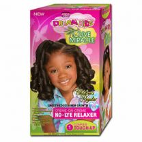 African Pride Dream Kids Olive Miracle Complete Touch Up Kit Regular