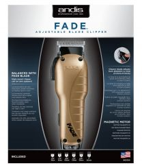 Andis Balanced Adjustable Fade Blade Clipper Gold | 66380