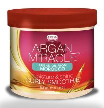 African Pride Argan Miracle Curly Smoothie 12oz