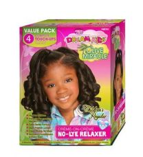 African Pride Dream Kids Relaxer Kit Regular 4 Touch Up