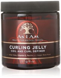 As I Am Coil And Curl Definer Curling Jelly 8oz