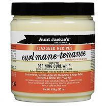 Aunt Jackie's Curls & Coils Flaxseed Recipes Curl Mane-Tenance Defining Curl Whip