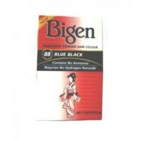 Bigen Blue Black Permanent Powder Hair Colour 88
