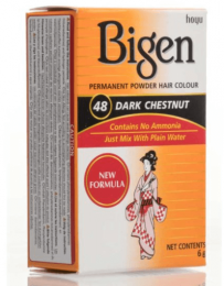 Bigen Permanent Powder Hair Color Dark Chestnut