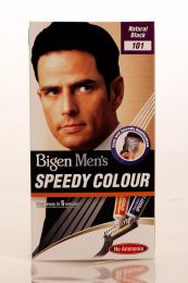 Bigen Natural Black Speedy Hair Colour For Men 101