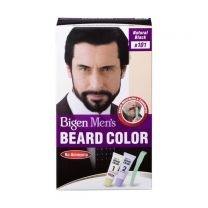 Bigen Mens Beard Color Natural Black B101 with No Ammonia