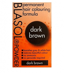 Blasol Permanent Hair Colouring  Powder Dark Brown