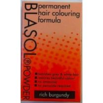 Blasol Permanent Hair Colouring  Powder Rich Burgundy