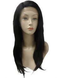 Rush Collection Brazilian Swiss Net Lace Front 100% Human Hair Wig Glam