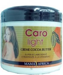 Mama Africa Caro Light Cocoa Butter Creme Jar 450ml
