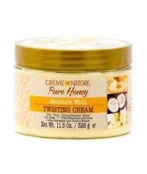 Crème of Nature Pure Honey Moisture Whip Twisted Cream 11.5 OZ