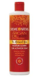 CREME of NATURE Moisture and Shine Curl Activator Cream 12oz