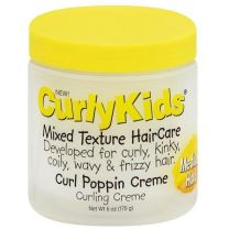 CurlyKids Mixed Texture Haircare Curl Poppin Creme 6oz