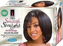 Doo Gro Smooth and Straight Anti Breakage No Lye Relaxer System, Regular