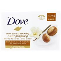 Dove Mon Soin Cocooning Purely Pampering Soap 4x100g Bars