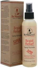 Dr Miracle Braid Relief Spray 6oz Sup