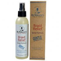 Dr Miracle Braid Relief Spary 6oz Gnt