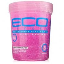 ECO Styler Professional Curl & Wave Styling Pink Hair Gel 32oz
