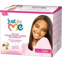 Just For Me No-Lye Conditioning Creme Relaxer Kit COARSE