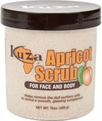 Kuza Apricot face and body scrub 15oz