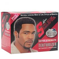 Luster's S Curl Extra Strength Hair Texturizer Kit 2 Application