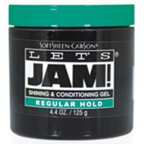 Let's Jam Regular Green Shining & Conditioning Gel 4.25oz Green