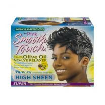 Luster Pink Smooth Touch Extra Virgin Olive Oil No-Lye Relaxer Super 1 App