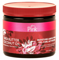 Luster's Shea Butter Cocunut Oil Pink Moisture Amplifying Gel Curl Activator