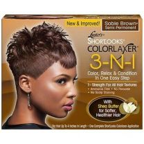 Luster's Short Looks Colorlaxer 3- In-1 Color Sabel Brown