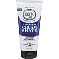 Magic Razorless Cream Shave Regular Strength 6OZ