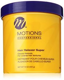 Motions Professional Hair Relaxer Jar Super 15oz
