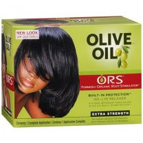 ORS Olive Oil No Lye Relaxer System Kit Extra Strength