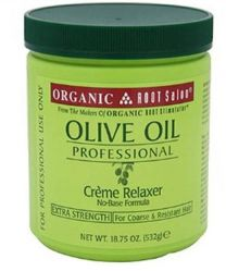 ORS Olive Oil Professional Hair Crème Relaxer Extra Strength 18oz