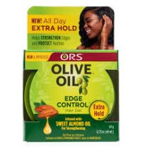 ORS Olive Oil Strong Hold Edge Control Hair Gel 2.25oz