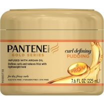 Pantene PRO-V Gold Series Curl Defining Pudding Infused with Argan Oil 7.6 oz