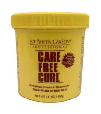Softsheen Carson Care Free Curl Chemical Rearranger Maximum Strength 400 ml