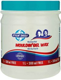 Stylin' Dredz Moulding Gel Wax With Tea Tree Oil For Maximum Hold