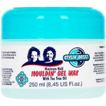 Stylin' Dredz Moulding Gel Wax With Tea Tree Oil For Maximum Hold 250ml
