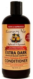 Sunny Isle Extra Dark Jamaican Black Castor oil Conditioner 12OZ