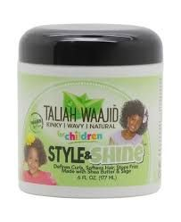 Taliah Waajid Herbal Style & Shine for Natural Hair for Kids