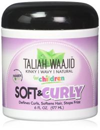 Taliah Waajid Soft & Curly For Natural Hair 6oz for Kids
