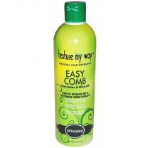 Texture My Way Easy Comb Leave-In Detangling & Softening Cream Therapy 12oz