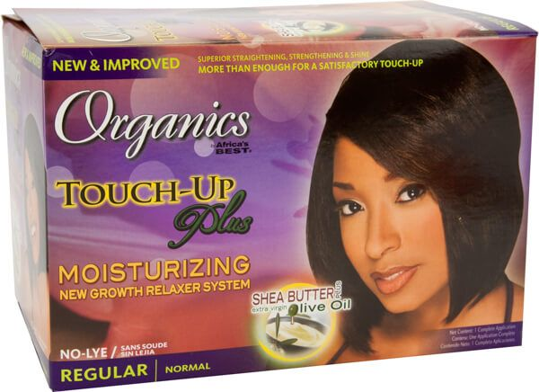 Africas Best Organics Touch Up Plus Moisturizing Relaxer Kit