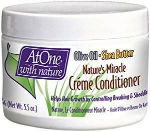 ATONE Nature's Miracle Hair Creme Conditioner Jar 5.5oz