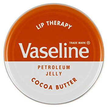 Vaseline Lip Therapy Cocoa Butter Petroleum Jelly 20g