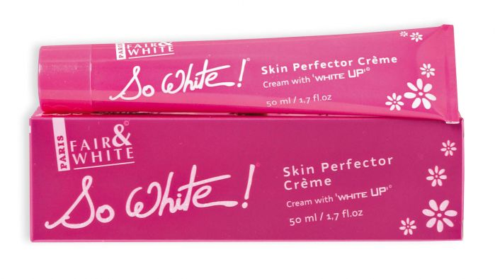 Fair and White So White Skin Perfector Cream Pink Tube 50ml