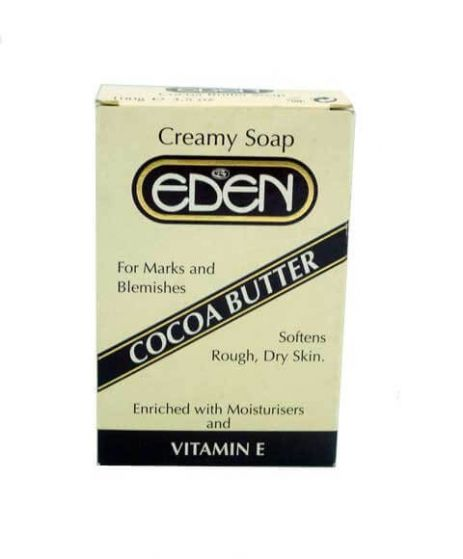 EDEN Cocoa Butter Creamy Soap For Rough Dry Skin