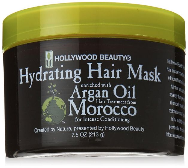Hollywood Beauty Argan Oil Treatment Hydrating Hair Mask 7.5oz